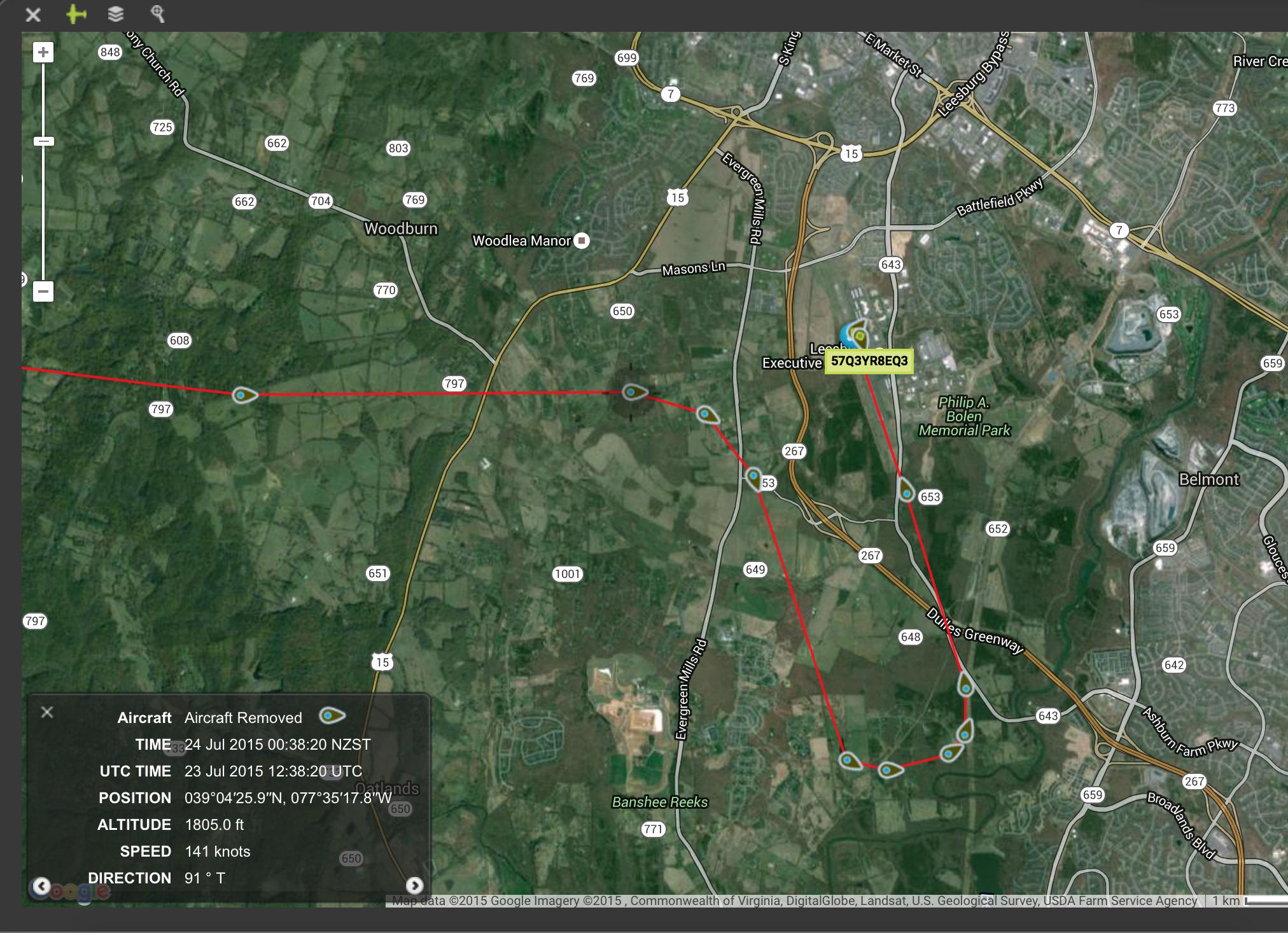 Spidertracks Tracking Platform in DC SFRA