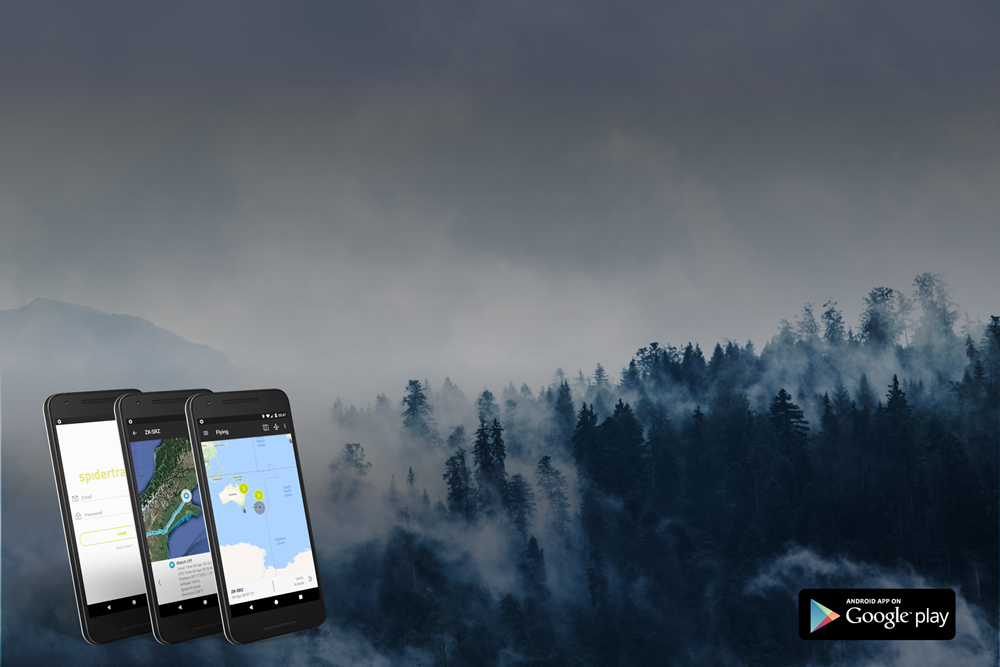 New Spidertracks App for Android