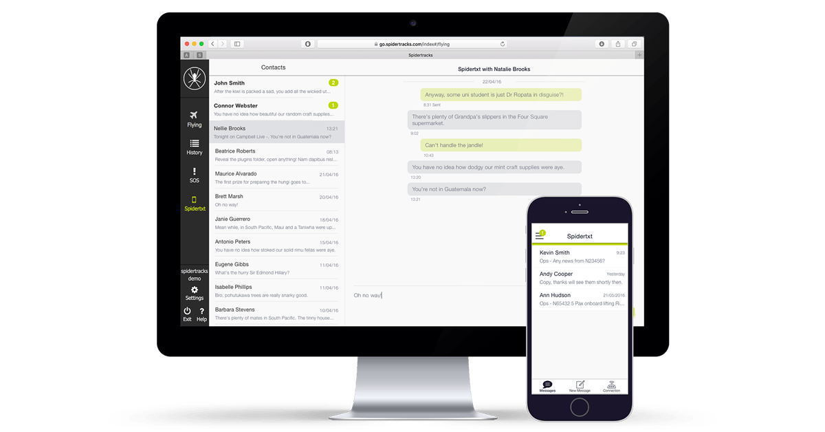 The Value of Person-to-Person Communication: Increase Efficiency and Minimise Losses with Spidertxt 2.0