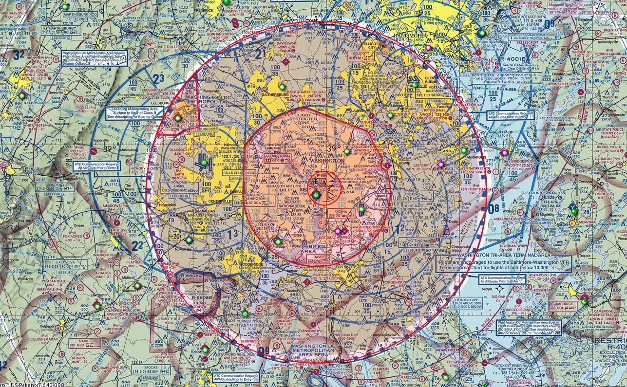 Navigating The Trickiest Airspace In America